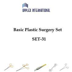 BASIC PLASTIC SURGERY SET Price:US$ 90.00 What's app & viber: 0092-345-8410036 Email: info@instrumentsforsurgeons.com http://instrumentsforsurgeons.com/specialty-instruments-for-plastic-surgery/suggested-instruments-sets/basic-plastic-surgery-set-set-31 #BASICPLASTICSURGERYSET #PlasticSurgeryInstruments