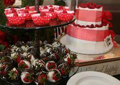 wedding shower dessert