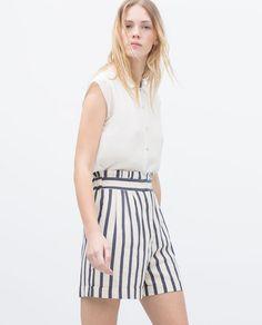 Image 2 of SAILOR SHORTS from Zara