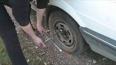 How to change a flat tire.I should probably learn how to do this to! Flat Tire, Car, Garage, Change, Kids, Carport Garage, Young Children, Automobile, Boys