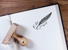 Pieczątka Ex Libris do stemplowania książek Ex Libris, Custom Address Stamp, Linocut Prints, Editorial Design, Balloons, Scrap, Crafting, Bedroom, Paper