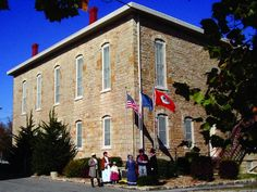 "(Territorial Capital Museum in Lecompton, Kansas.) Lecompton served as the only official Kansas territorial capital from 1855-1861. President Franklin Pierce and congress appropriated 50 thousand dollars to construct an elegant stone capitol in Lecompton. Presidents Pierce and Buchanan appointed ten Kansas governors in less than seven years which were sent to Lecompton to govern Kansas. Their decisions played a major role in pre-Civl War ""Bleeding Kansas"" history."