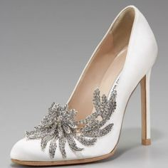 Manolo Blahnik- some things can't be compromised. Like shoes.