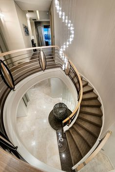 Huge staircase