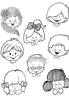 La Cara Jardin Materiales Pinterest Drawing For Kids Doll