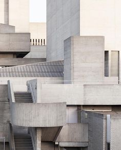 """- Design Interiors Architecture (@thelocalproject) on Instagram: """"Brutalist beauty The Royal National Theatre designed by architect Sir Denys Lasdun Located in…"""""""