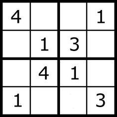 Sudoku Puzzles for Kids at AllKidsNetwork.com