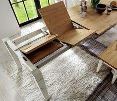 Smart Furniture, Kitchen Furniture, Wood Furniture, Furniture Design, Wooden Dining Tables, Extendable Dining Table, Dining Room Table, Smart Table, Kitchen Banquette