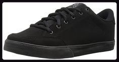 C1RCA Lopez 50, Unisex-Erwachsene Sneakers, Schwarz (Black/Black Synthetic), 43.5 EU - Sneakers für frauen (*Partner-Link)