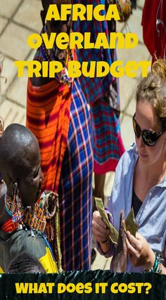 Africa overland trip budget what does it cost to overland throughout Africa? If you're looking to plan and book an overland trip through Africa, this breakdown will give you a good idea of what kind of costs to expect along the way. Read the full travel blog post at  http://www.divergenttravelers.com/africa-overland-trip-budget/