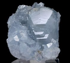 I love Celestite ... it is so pure and beautiful!  every home should have a piece:) xxx