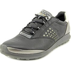 Ecco Womens Biom Hybrid 2 Golf Shoes US 10105 BlackBuffed Silver *** Check out the image by visiting the link. (This is an affiliate link) Black Golf Shoes, Womens Golf Shoes, Ladies Golf, High Top Sneakers, Silver, Stuff To Buy, Link, Image, Fashion
