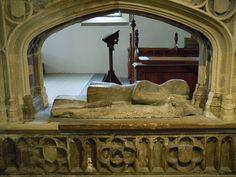 ... of Sir William Hylton (d.1435),St Peter's Church, Monkwearmouth