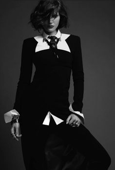 Morbid Fashion | thegothcat: Catherine McNeil by Jean-Baptiste...