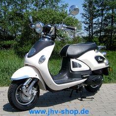 Quad, Buggy, Bikes, Trikes,Kinderquadbahn,  Eventartikel und mehr - Znen Legend ZN50QT-E5 45 km/h Retro scooter