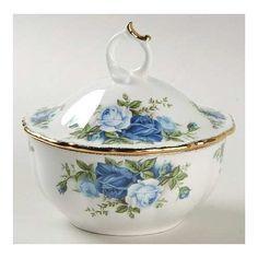 royal albert moonlight rose bowl ,cover
