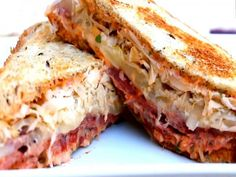 #Reuben #Sandwich #Recipe Video by @StevesCooking | ifood.tv