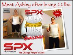 Meet Ashley another Winner of $100 www.SPXNutri-tion.com