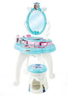 Simba frozen hair dresser with stool  #frozen #disney #simbatoys #happy #kids #toys