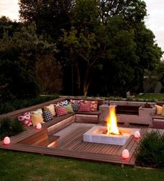 This stylish boma was done by Blok Designs in a Johannesburg garden   SA Garden and Home, issue May 2013