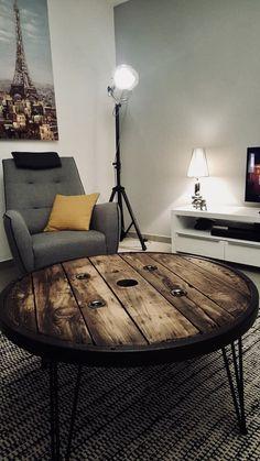 table basse touret grand par lignebrute sur etsy nouveau. Black Bedroom Furniture Sets. Home Design Ideas
