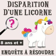 enquête licorne