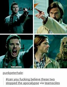 hehehehh - Supernatural - Superman action figures was really well-known considering that Supernatural Fandom, Supernatural Series, Supernatural Quotes, Castiel, Spn Memes, Sherlock Quotes, Sherlock John, Sherlock Holmes, Supernatural Bloopers