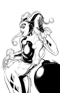 Harley Quinn by Dash Martin