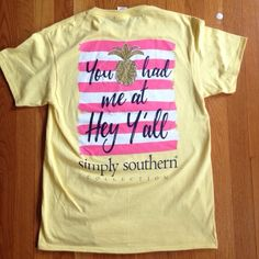 Simply Southern Shirt Brand new. Price is firm unless bundled. 1st picture shows accurate color. Simply Southern Tops Tees - Short Sleeve