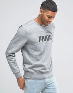 Puma | Puma No.1 Logo Crew Sweatshirt In Grey 83185903