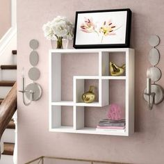 Zipcode Design Pavo Cantilever Wall Shelf & Reviews | Wayfair