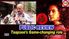 Game Over Public review of Taapsee Pannu's latest movie   hyderabad cine... Popular Movies, Latest Movies, Top 10 News, Taapsee Pannu, Becoming An Actress, Story Writer, Tamil Movies, Film Director, Serial Killers