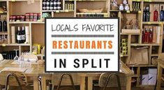 Split Restaurants - a comprehensive guide to restaurants in Split Croatia. Find out the best places to dine out in Split.