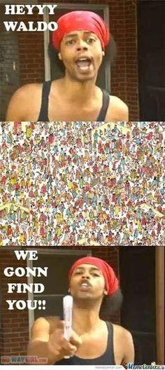 Hey Waldo Don't Hide - NoWayGirl