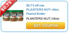Dollar Tree: PLANTERS NUT-rition Peanut Butter for 25¢ w/ PRINTABLE Coupon