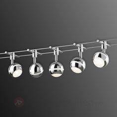 LED-tausystem Baloubet i krom 9005057