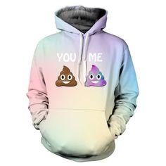 Pastel Galaxy Emoji Hoodie