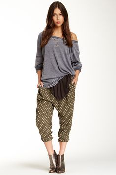 Free People | Free People Shelias Rayon Crossover Pant | Nordstrom Rack