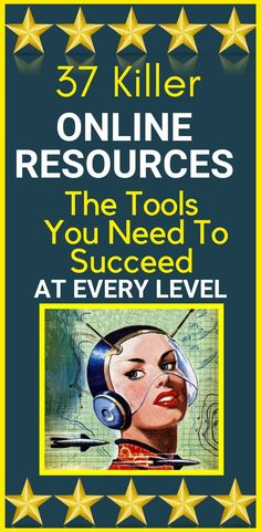 """37 """"Killer"""" Online Resources - The Tools You Need To Succeed At Every Level  Here is a list of the #tools and #websites I strongly recommend for #building and #optimising your #business.  I thought it would be helpful to create a resources page that you can come back to for all of your #online #marketingrequirements.  I'll add to it as I discover more along the way…  Visit the link  for instant access now >>  www.hotclicks.com... #online #resources"""