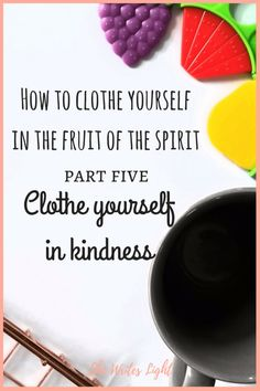 Kind words are like honey—sweet to the soul and healthy for the body (Proverbs 16:24). But the fruit of the Spirit is love, joy, peace, patience, kindness, goodness, faithfulness, gentleness, and self-control. Against such there is no law (Galatians 5:22-23). Welcome to part five of this nine part series. You can click on the links...
