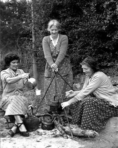 Irish Traveler women 1957