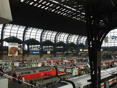 hauptbahnhof in Hamburg, Germany