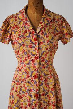 Va-Voom Vintage The Feed Sack Dress