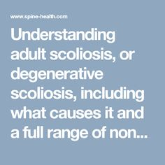 What Is Scoliosis and What Causes It?