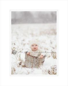 Cute winter baby :)
