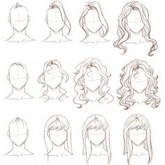 22 How to Draw Hair Ideas and Step-by-Step Tutorials - Beautiful Dawn Designs