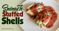 Easy to make Spinach Stuffed Shells