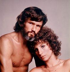 Kris Kristofferson & Barbra Streisand: A Star Is Born 1976 Country Singers, Country Music, Film Movie, Kris Kristofferson, Image Film, I Love Cinema, Barbra Streisand, A Star Is Born, Classic Movies