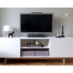 24Designs TV Meubel Aalborg - Mat Wit - DesignOnline24