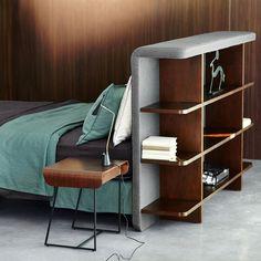 tete-de-lit-rangement-chambre-ampm- Le Blog déco de MLC